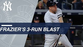 Frazier's Home Run Gets Yankees On The Board