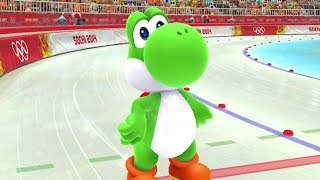 Mario & Sonic at the Sochi 2014 Olympic Winter Games - Speed Medley