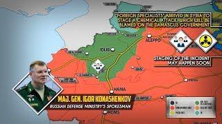27 августа 2018. Военная обстановка в Сирии. Минобороны РФ сообщило о постановочной химатаке в Сирии