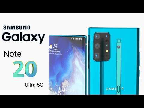 Samsung Galaxy Note 20 Ultra 5G Trailer Concept Design Official introduction,