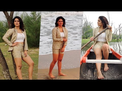സാനിയ അയ്യപ്പന്റെ വൈറൽ ഫോട്ടോഷൂട് മേക്കിങ് | Saniya Iyappan Viral Photoshoot Video