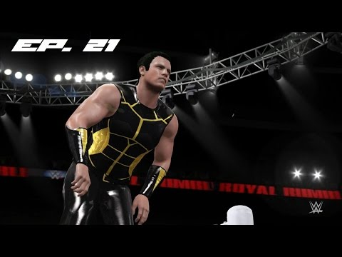 WWE 2K16: MyCareer Mode - Ep. 21 - Royal Rumble PPV!