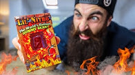 THE WORLD'S HOTTEST GUMMY BEAR | 9 MILLION SCOVILLES CHALLENGE | BeardMeatsFood