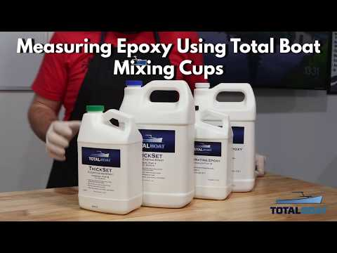 TotalBoat Tips: How to Measure Epoxy Using TB Measuring Cups