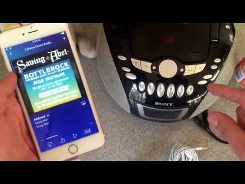 Stream music fromiphone 6 to home radio receiver