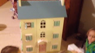 Le Toy Van, Cherry Tree Hall Dolls House! Building & Playing