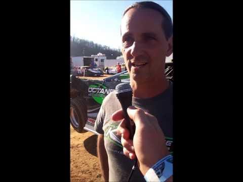 "Freddie Carpenter Interview Tyler County Speedway ""Earl Hill Memorial"" 4-16-2016"