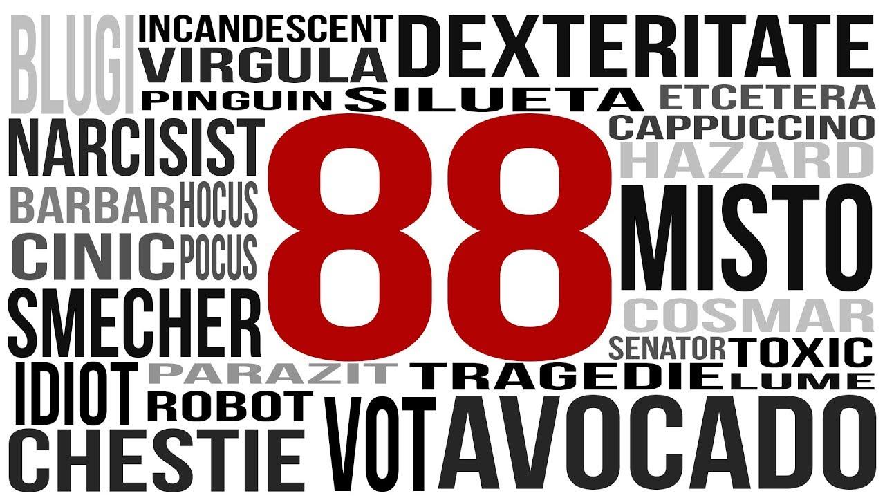 88 de Cuvinte cu Origini Tâmpite