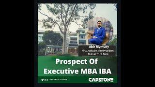 Prospect of Executive MBA IBA