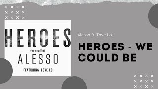 Alesso ft. Tove Lo - Heroes (we could be) (Acapella - Vocals Only)