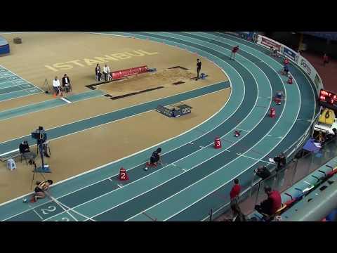 İstanbul U18 Türkiye Salon Şampiyonası 200 metre kızlar16  seri
