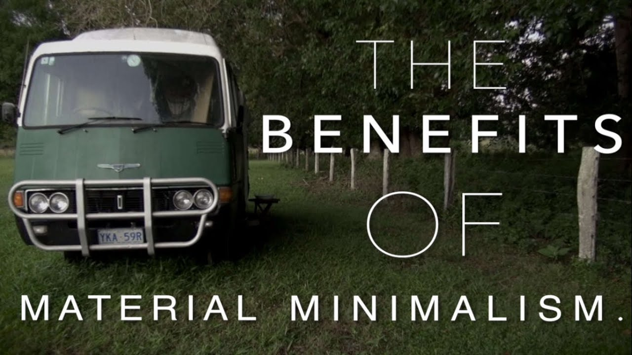 The benefits of material minimalism bonnie mcarthur for Benefits of minimalism