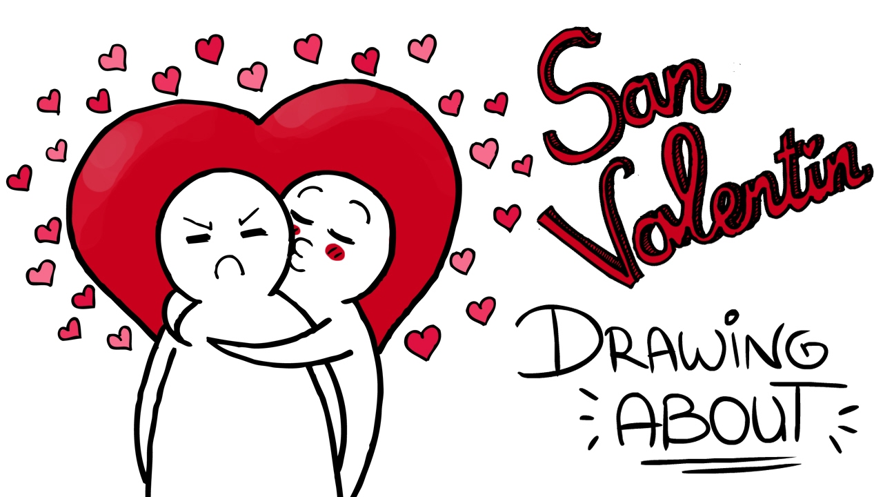 San Valentín Drawing About Youtube