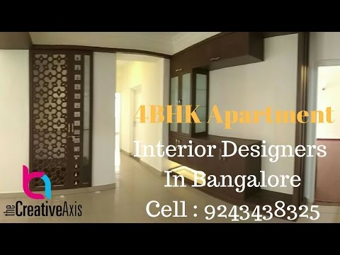4BHK Apartment Interior Design In Bangalore by Creative Axis