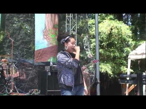 Alika with Quinto Sol Reggae on the River July 21, 2012 whole show