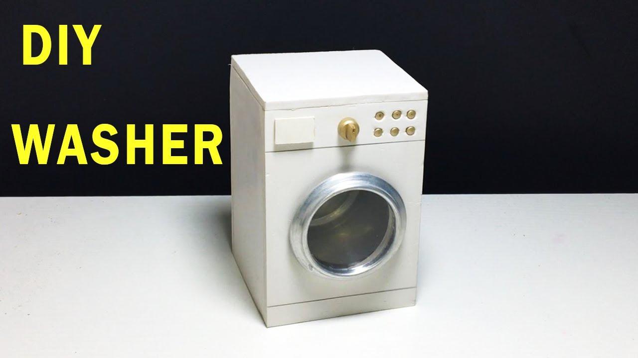 How To Make Washing Machine Diy Mini Washer