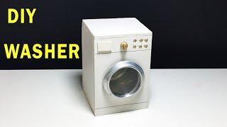 How to make Washing Machine !! DIY Mini Washer