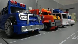 Hello Carbot Truck Helicopter Robot Toys 헬로카봇 트럭 헬리콥터 로봇 장난감 변신