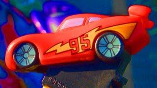 Disney Pixar Cars 2 Lightning Mcqueen Pez Candy Dispenser Disney Mattel Review World Grand Prix #95
