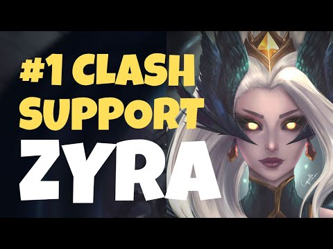 How ZYRA is the #1 SUPPORT for Clash