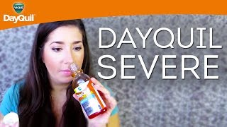 Vicks Liquid Cold Medicine Review Dayquil Severe Cold Flu Relief Liquid