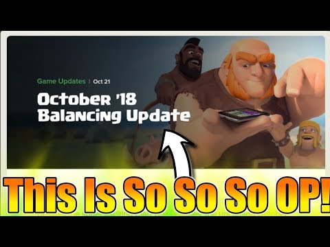 NEW UPDATE : This Is So So OP Balancing Change In Clash Of Clans | COC - Clan War League Update