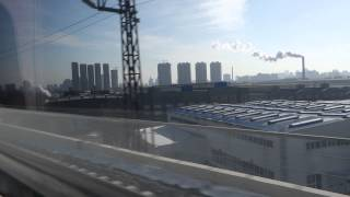 CRHの車窓から 長春西 → 長春