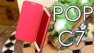 Alcatel One Touch Pop C7!-Review En Español
