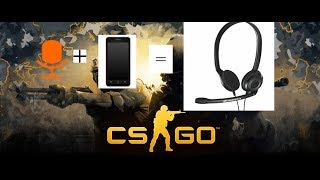 how to use phone mic in CS:GO(Counter Strike: Global Offensive)