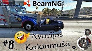 Avarijos Kaktomuša! #8 – BeamNG Drive