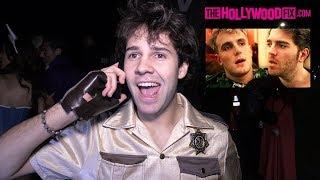 David Dobrik Calls Shane Dawson & Speaks On His Jake Paul Series At The Casamigos Halloween Party