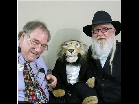 Interview for StoryCorps Project - Rabbi Aryel Nachman, Randy H. Farb and Zeyde the Lion