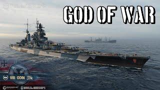 World of Warships - God of War
