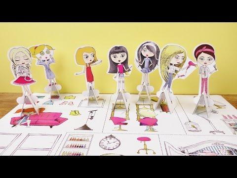 XXL Beauty Salon Girls Aufbau   Tektorado Salon zum selber machen   DIY Fun für Kids