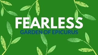 EPICURUS fearless philosophy.🌿.No fear Quotes.