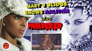 Mary J Blidge Knew Aaliyah Was Murdered & She Knew She Was Next, Barry Vs The Haughtons