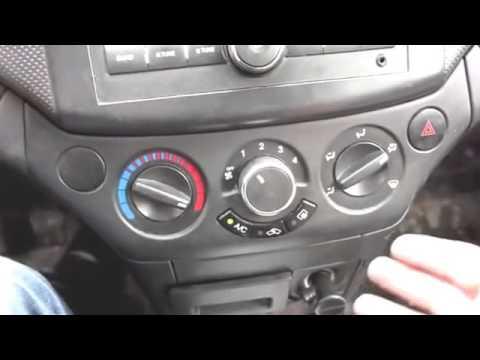 Шевроле авео как снять магнитолу - Авто-ремонт