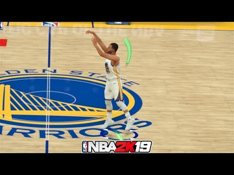 NBA 2K19 Top 10 Long Distance Green Release Shots!
