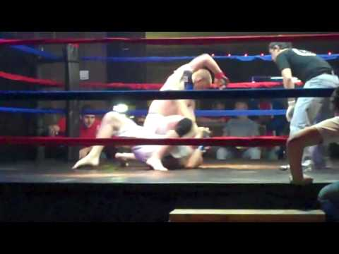 Josh Millwood MMA fight March 26th 2010 - 1st fight of 3