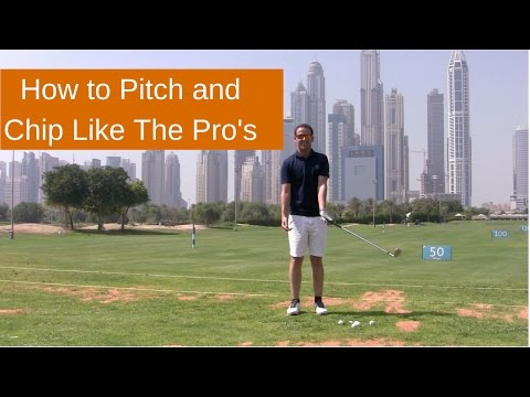 HOW TO PITCH A GOLF BALL