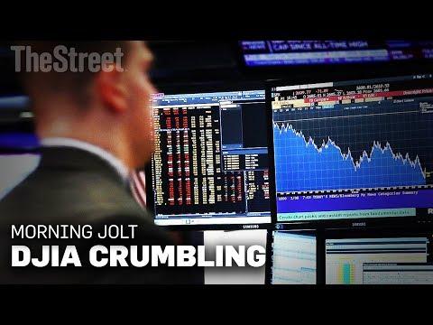The Dow Jones Industrial Average Is Crumbling