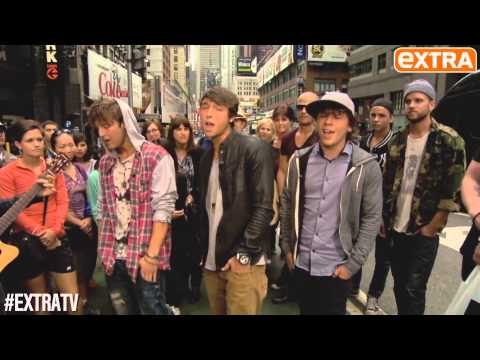 emblem3 sing 3000 miles for extra tv