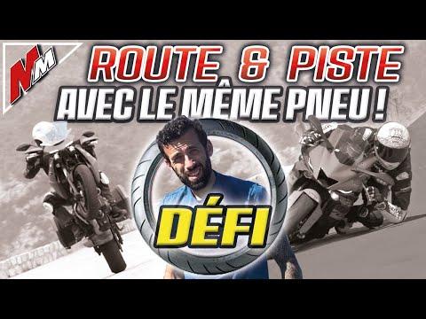 DÉFI : road trip + chrono sur piste avec le même pneu ! (+ FPV et bonus chelou)