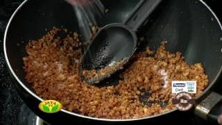 """Khasta Kachori & Pachai Chutney"" Arusuvai Ithu Thani Suvai – Jaya tv cookery Program"