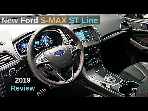 New Ford S-MAX ST Line 2019 Review Interior Exterior