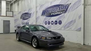 Pre-owned 2003 Ford Mustang GT Premium Mach 1 W/ 4.6L, Leather Overview | Boundary Ford
