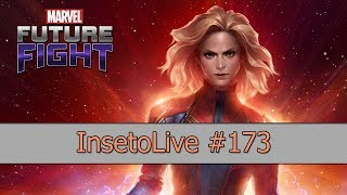 #InsetoLive 173 🐱‍👤 - Marvel Future Fight
