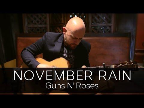 NOVEMBER RAIN (Guns n' Roses) - Acoustic Guitar Solo Cover