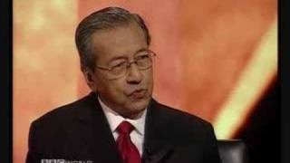 BBC HARD TALK with Malaysian Former Prime Minister 1/3