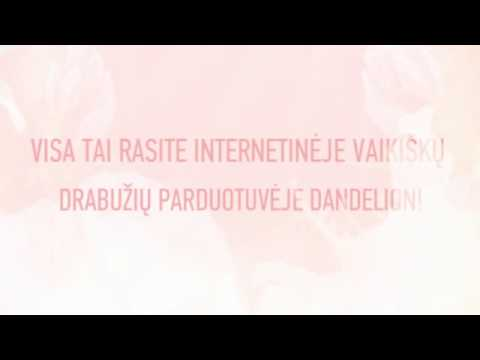 Vaikiški Drabužiai Internetu  | Www.DANDELION.lt